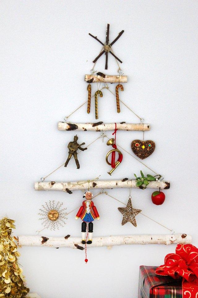 Christmas Tree Branch Decoration Ideas