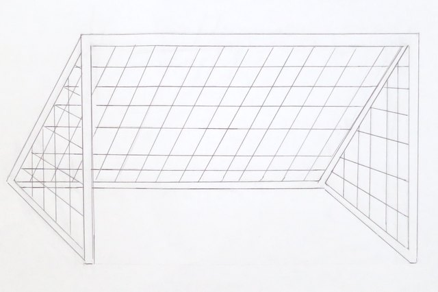 How to draw a soccer goal