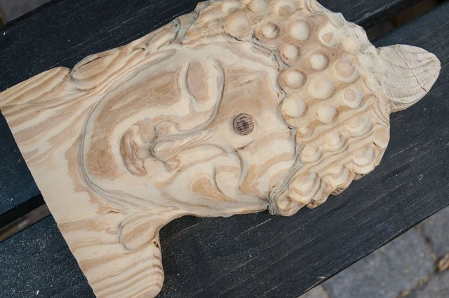 How to Carve a Face in Wood