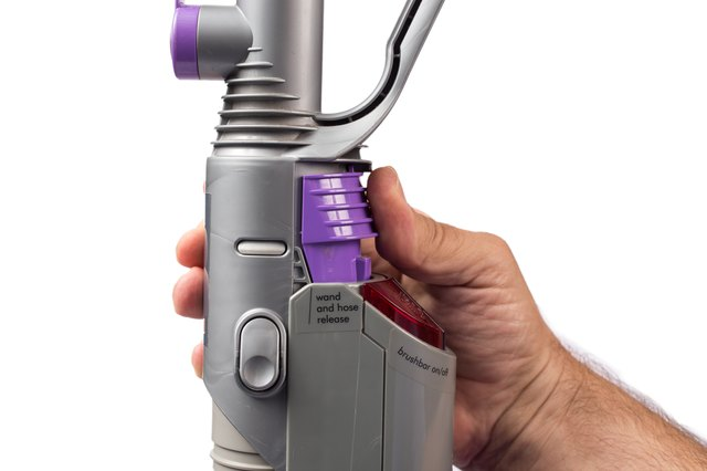 how to clean dyson animal hose