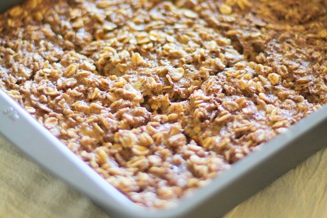 Baked oatmeal is a crowd-pleaser for brunch.