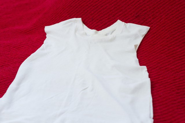 How to Make a Cutoff Shirt with Open Sides