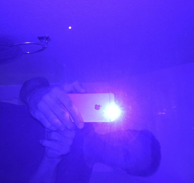 Turn Your IPhone Into A Black Light. Pictures