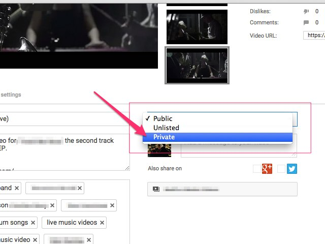 youtube how to delete a video