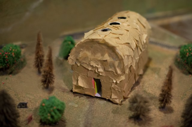 How to make a longhouse for a school project with pictures ehow