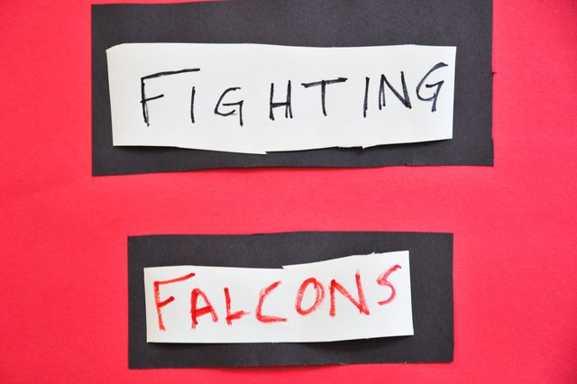 Ideas for Making Cheerleading Signs for Football