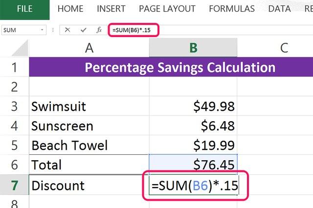 Coupon savings calculator excel
