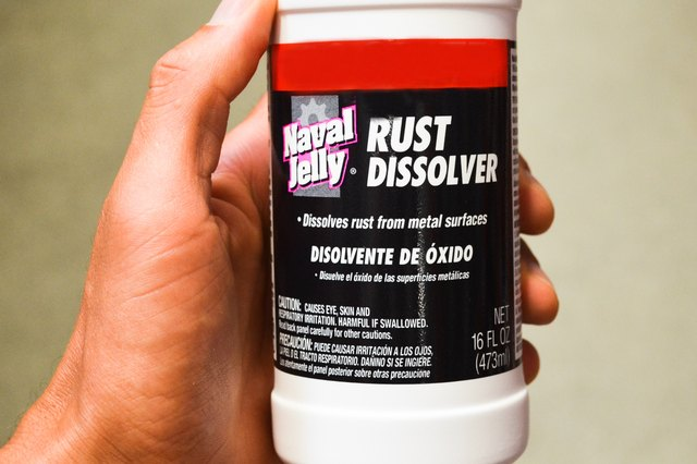 How to Remove Rust With Naval Jelly