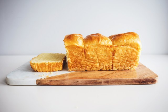 Slice and enjoy your perfect, golden and buttery loaf of brioche.