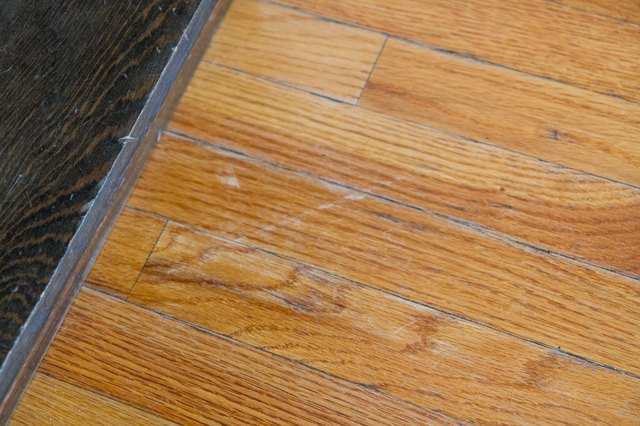 How To Fix Scratches In Hardwood Floors With Pictures Ehow