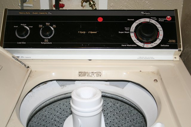 How to Repair a Whirlpool Washing Machine Agitator