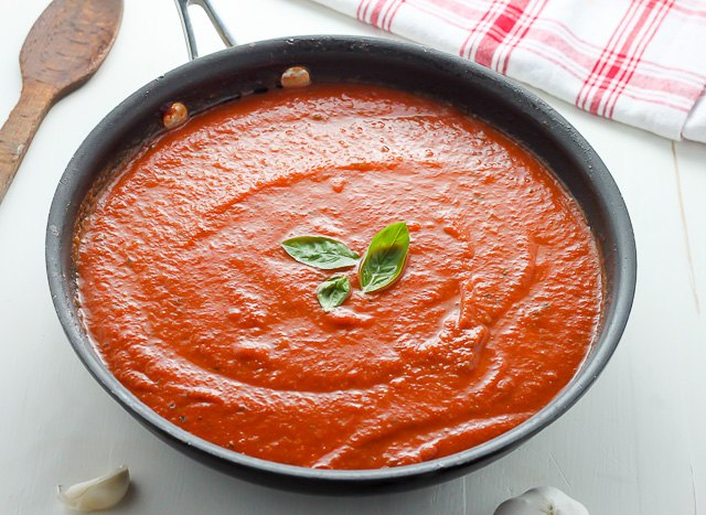 how to make sauce for pasta at home