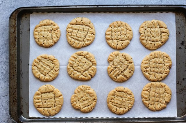 Bake until cookies reach desired done-ness