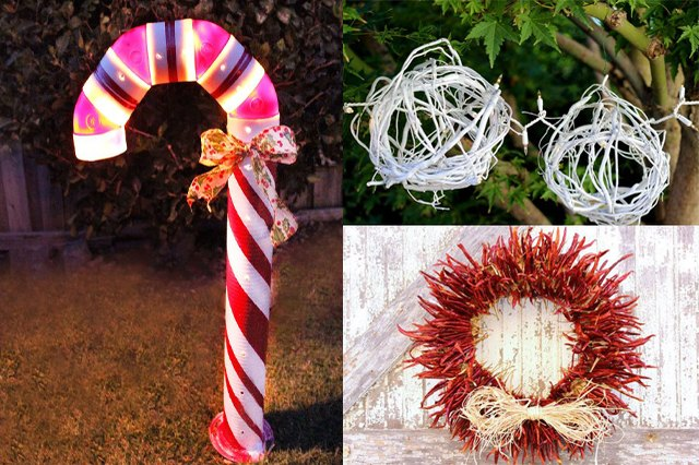 How To Make Unique Outdoor Christmas Decorations Ehow