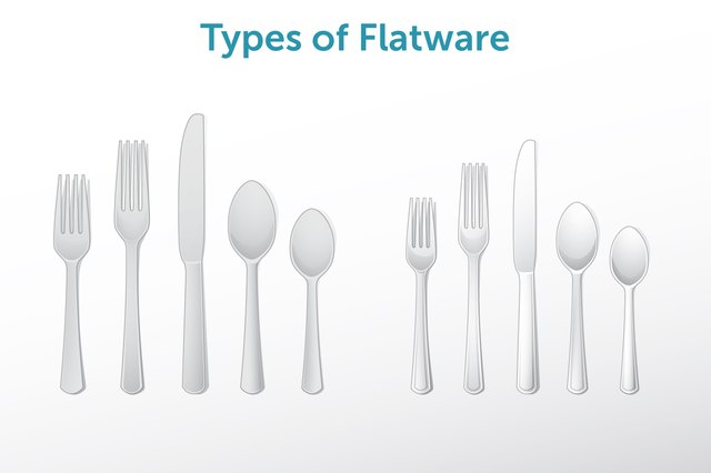 Bring out flatware with a brushed finish for casual meals.