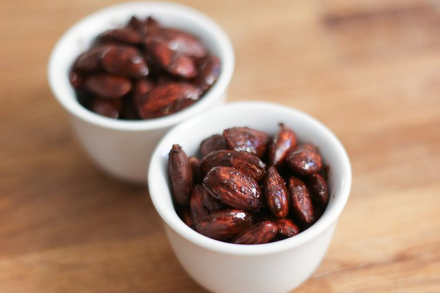 How to Make Cocoa Roasted Almonds