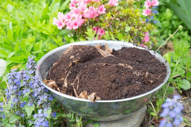 how to reuse coffee grounds in the garden with pictures ehow