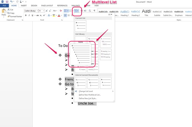 how to create numbered references in microsoft word