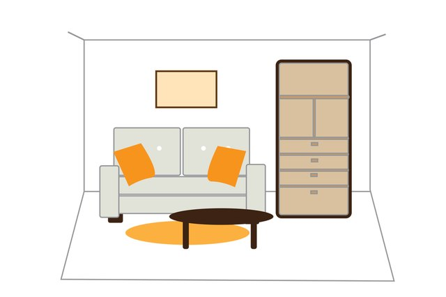 How To Arrange Furniture In Small Living Amp Dining Rooms Ehow