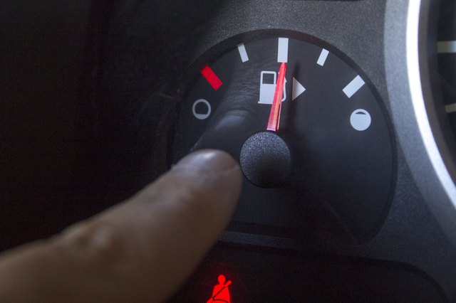 How to Fix a Stuck Fuel Gauge  with Pictures    eHow
