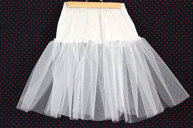 How To Make A Crinoline Skirt 12