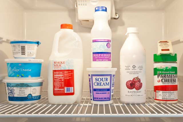How to Store Dairy Products