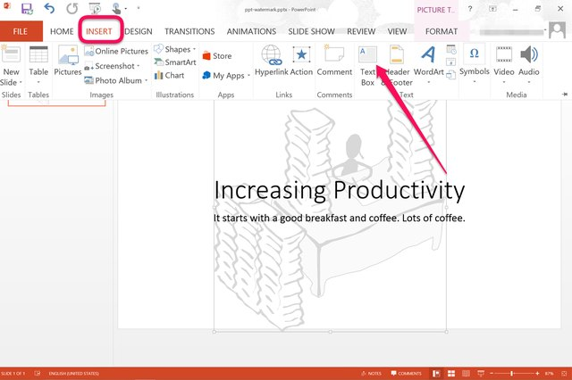 How to add a watermark to powerpoint slides with pictures ehow