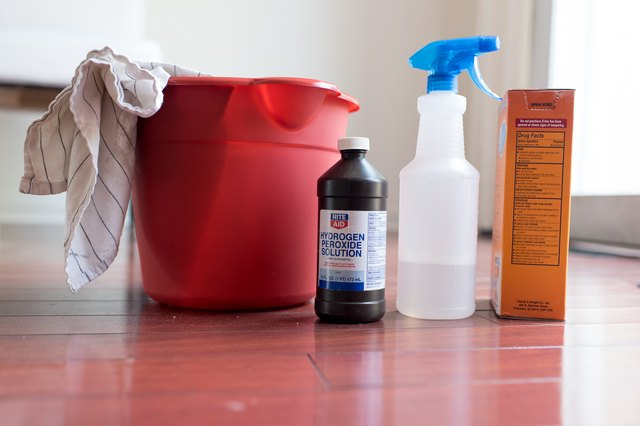 how to clean and make lamanate floors shine