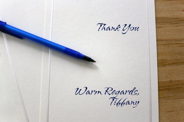 proper etiquette for signing thank you  u0026 sympathy cards