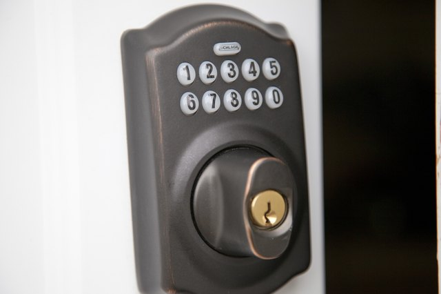 How To Change The Code On A Schlage Keyless Entry Ehow