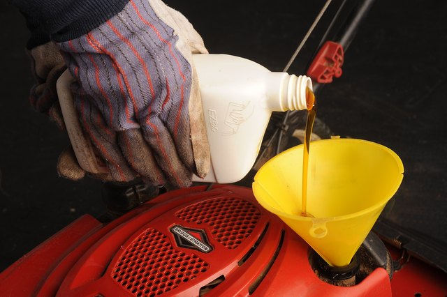 How To Change The Oil In A Toro Lawn Mower With Pictures