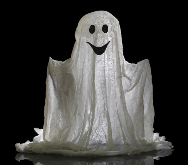 Ghosts can be scary or friendly.