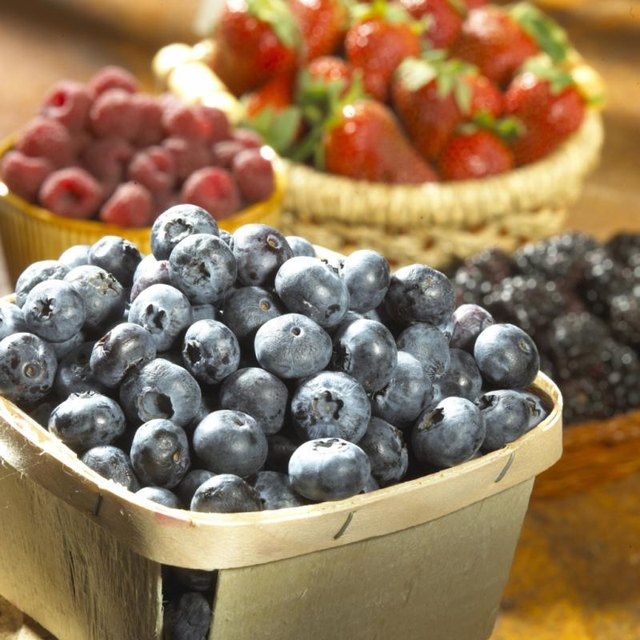 Berries are nutritious fruits.