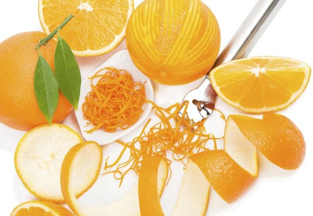 Orange juice and zest substitutes for lemon juice in baked goods.