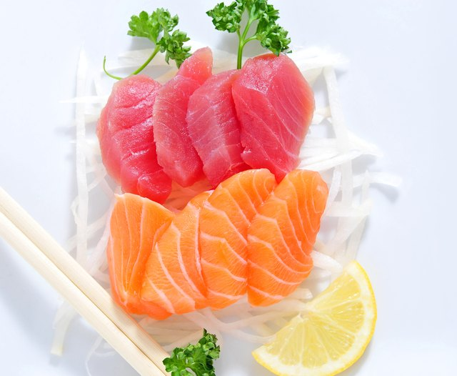 Salmon and tuna are good sources of omega-3 fatty acids.
