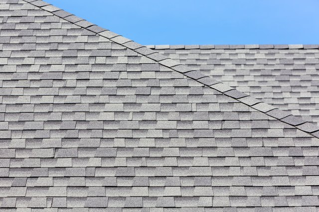 Architectural shingles have a textured look created by layers of material.