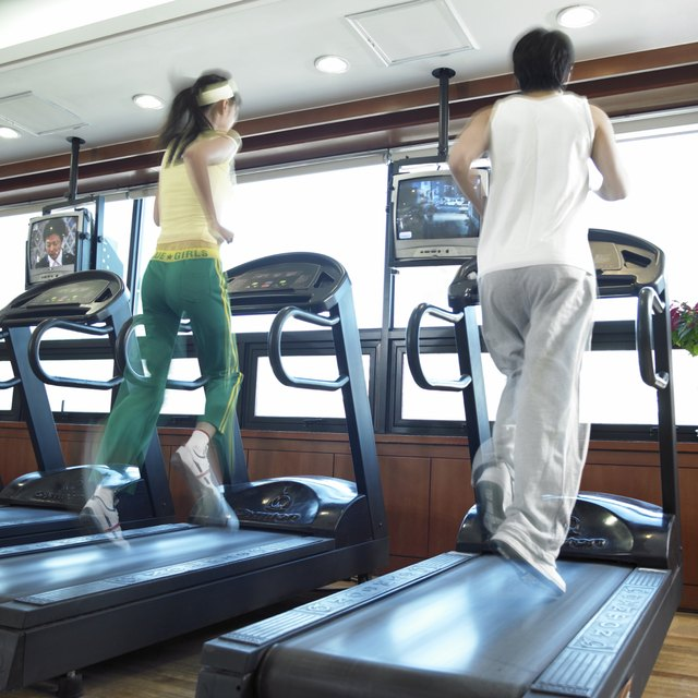 Treadmills can provide the cardio workout to help you burn fat.
