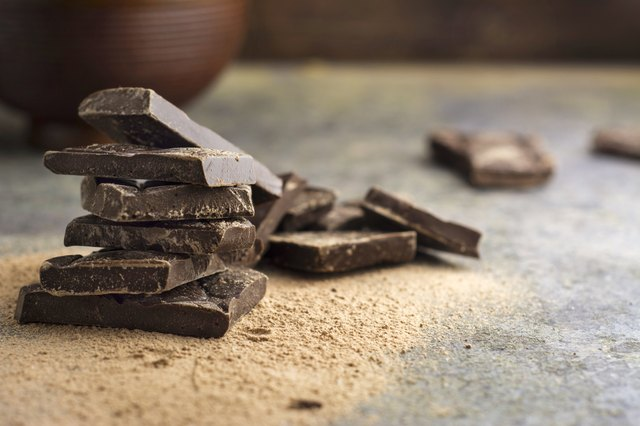 Dark chocolate has just a touch of caffeine for a natural energy boost.