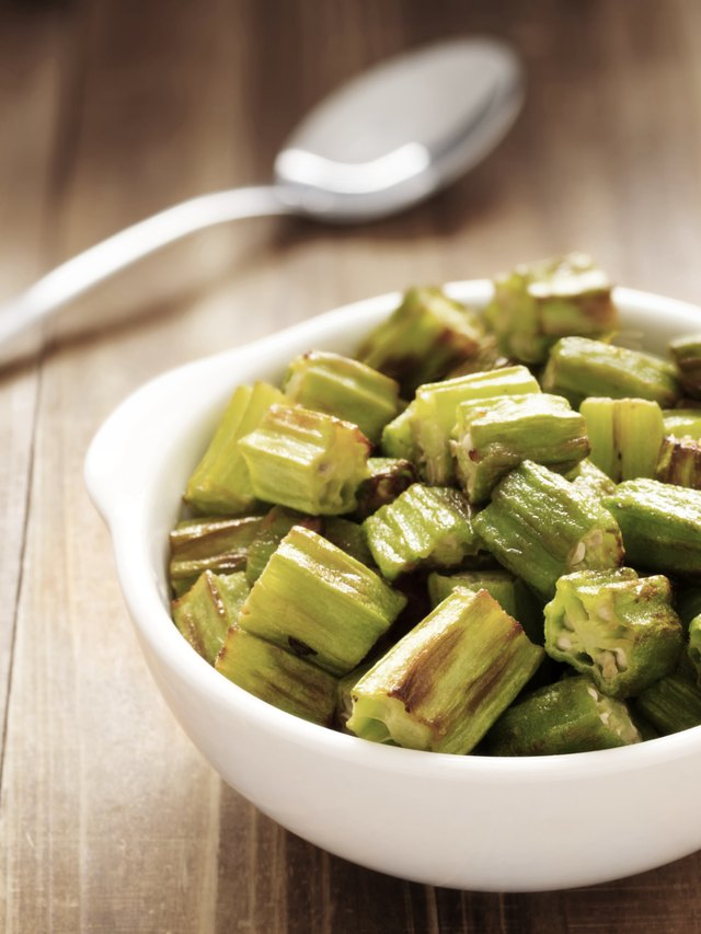 Bowl of okra