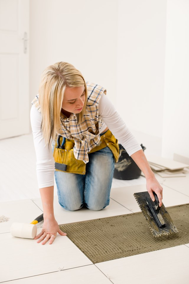 Ceramic tiles can be replaced if damaged.