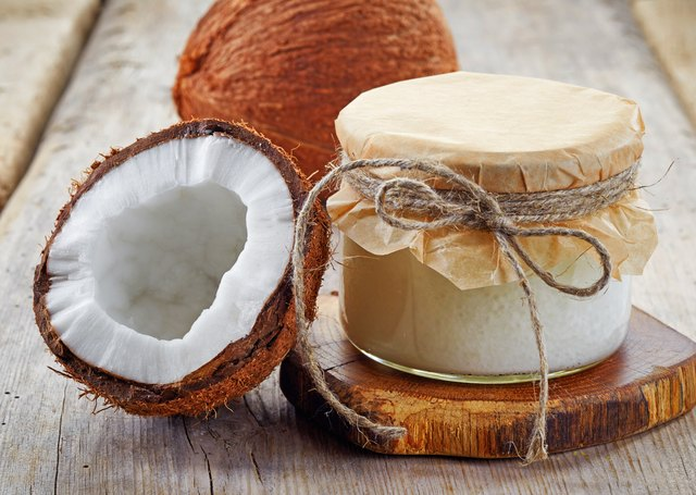 The special fatty acids found in coconut offer a quick burst of energy.