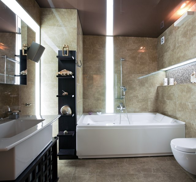 How To Choose Floor Tile For A Small Bathroom Ehow