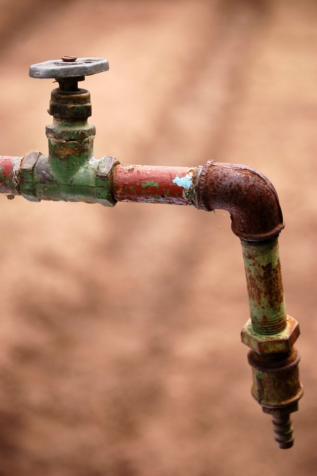Corrosion in plumbing can cause lead to enter water.