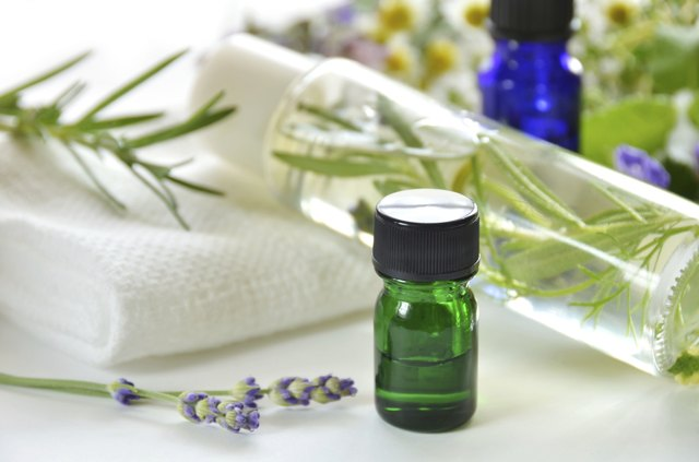You can add two drops of rosemary oil to your favorite eye cream before applying it.