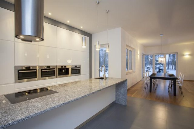 Corian Vs Granite Countertops With Pictures Ehow