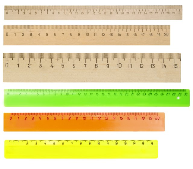 How To Read Centimeter Measurements On A Ruler Ehow