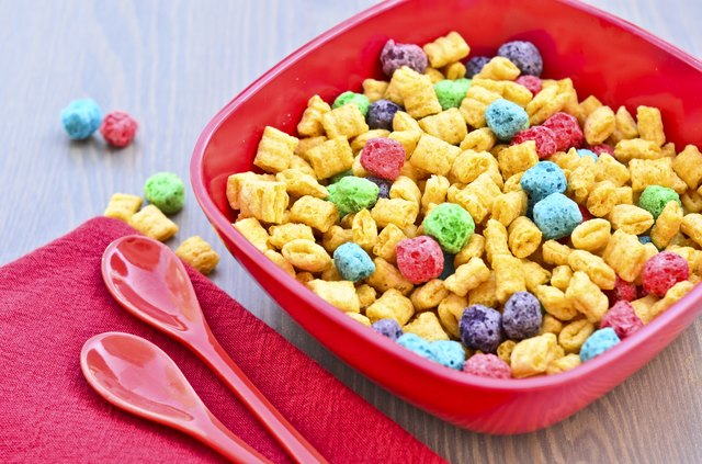 Sugary cereal isn't the best way to start your day.
