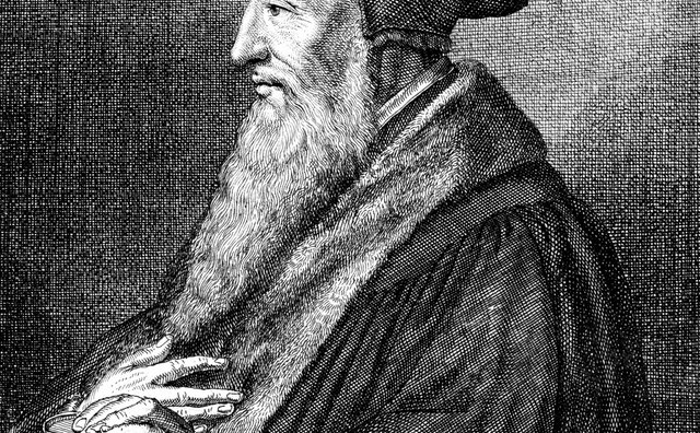 John Calvin's religious theories influenced the Puritans.