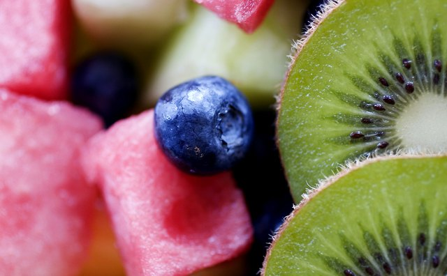 Keep a bowl of presliced fruit in the refrigerator for a quick, light breakfast addition.