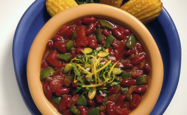 Spices in frozen chili are absorbed, making it just as delicious the second time around.